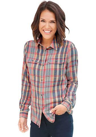 Блуза с пуговицы в Horn-Optik