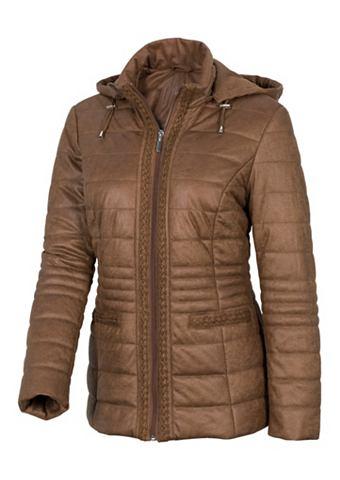 Куртка в имитация замша