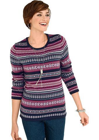 Пуловер в модный Farbgebung