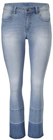 Kick-Flared-Jeans с Farbverlauf