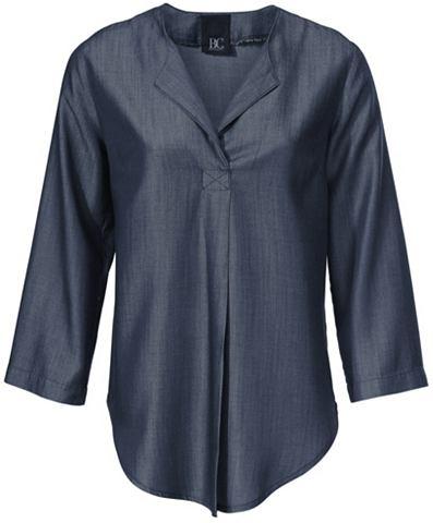 Джинсовая блузка с 3/4 рукава