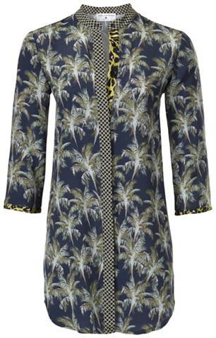 Блузка с набивным рисунком в Longform