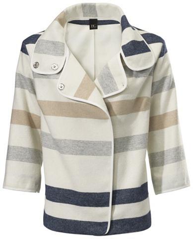 Пиджак полосатый с voluminösem во...