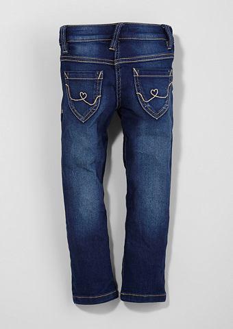 Kathy: джинсы с Used-Waschung для M&au...