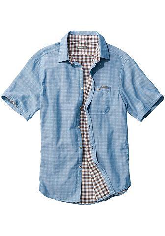 Doppellagiges рубашка с коротким рукав...