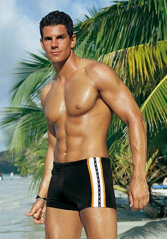 Пляжный плавки с Reißverschlusst...