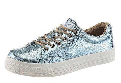 Металлические оттенки в обувь