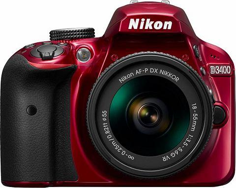 D3400 Kit AF-P 18-55 VR фотоаппарат зе...