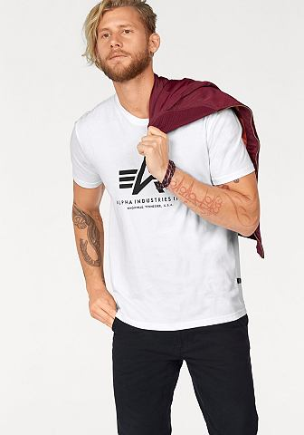 ALPHA INDUSTRIES Футболка »Basic Футболка