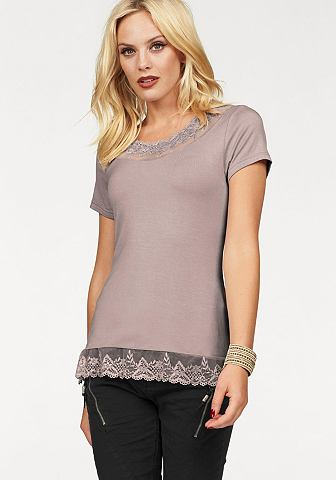 Блуза с круглым вырезом »FLORENC...