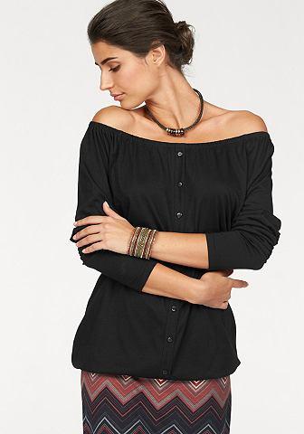 BOYSEN'S Блуза в стиле кармен »Off-Should...