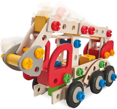 Bausatz Einsatzfahrzeuge 3in1 из дерев...