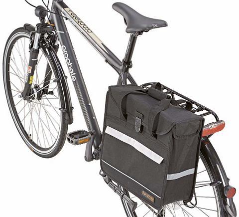 PROPHETE Корзинка для велосипеда черный цвет