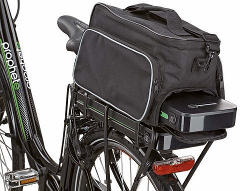 Корзинка для велосипеда черный цвет