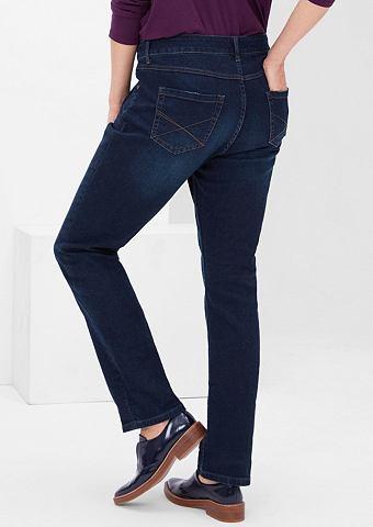 Curvy: прямого кроя узкие джинсы
