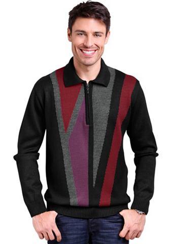 Пуловер с kontrastreichem Strickmuster...