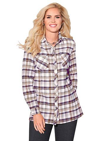 Блуза из wärmendem фланель