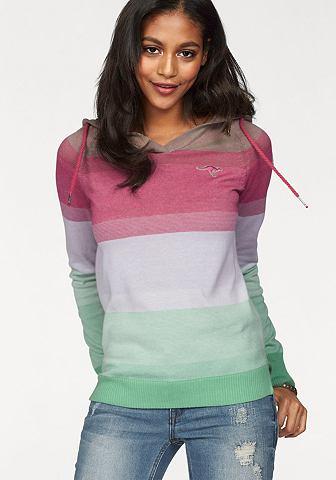 Kanga ROOS пуловер с капюшоном