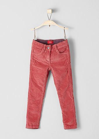 Облегающий Kathy: вельветовые брюки ст...
