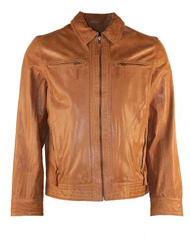 Куртка кожаная Herren Albano