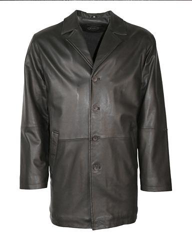 Пальто кожаное Herren Luciano