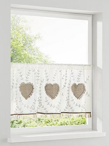 Декоративные занавески и штора