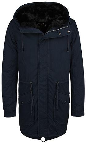 Куртка парка с съемный воротник + Futt...