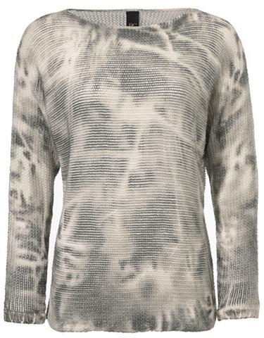 Пуловер Oversized gemustert