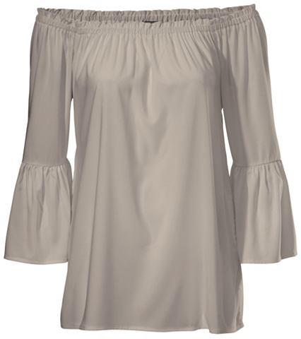 Блузка в стиле кармен с Trompeten