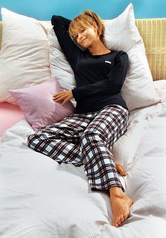 Пижама с клетчатый фланель штаны