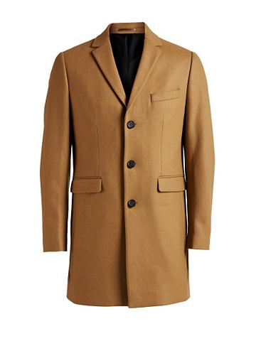 Jack & Jones шерстяной- пальто