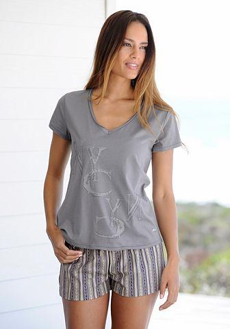 BUFFALO Модный пижама с gemusterter шорты