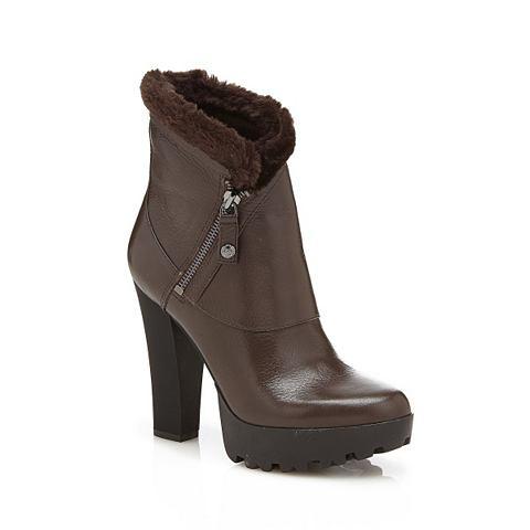 Укороченный ботинки CLANCI из кожа