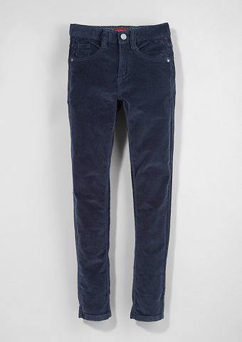 Облегающий Seattle: Warme брюки вельве...