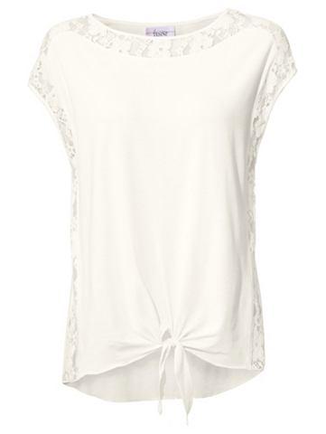 Кружевная блуза ärmellos