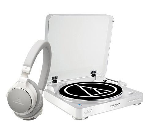 Комплект: Bluetooth-Plattenspieler и H...