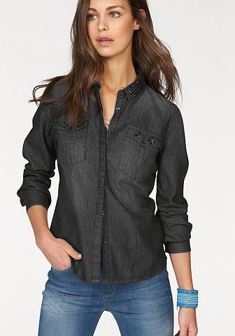 Джинсовая блузка »Monroe«