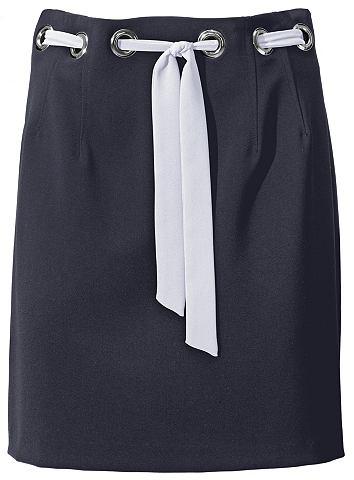 Мини-юбка с украшением