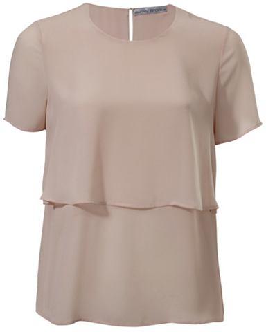 Блузка шифоновая асимметричный покрой