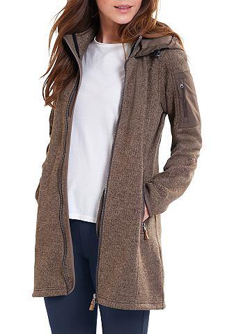 Куртка флисовая трикотажная пальто