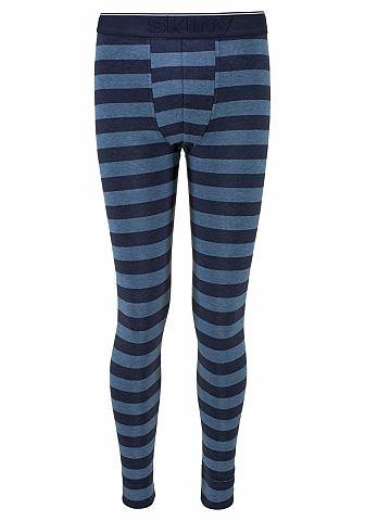 Длиный брюки с узкий штанина