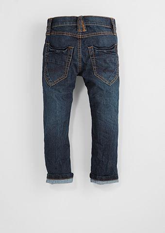 Pelle: джинсы с Kontrastnähten дл...
