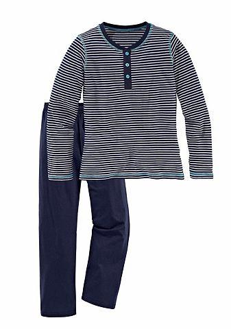 Pyjama- комплект с Querstreifen