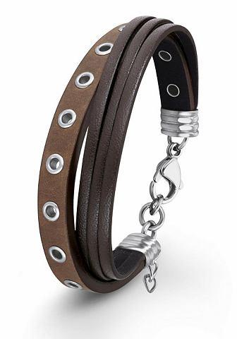 Браслет кожаный »2012516«