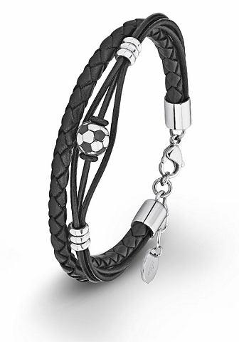 Браслет кожаный »Fussball 201246...