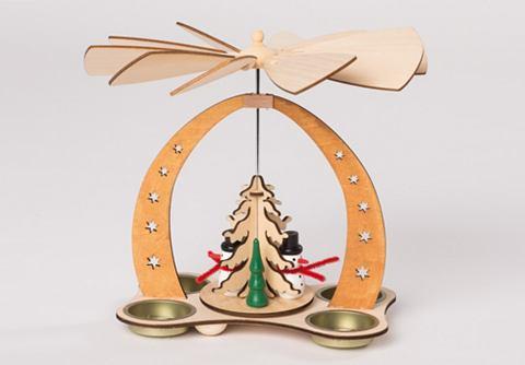Tischpyramide для vier Teelichte Schne...