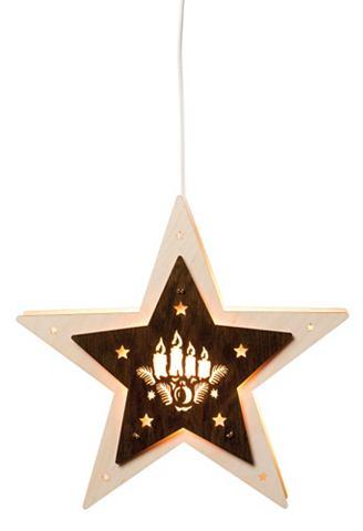 Fensterlicht-Stern с Kerzen elektrisch...