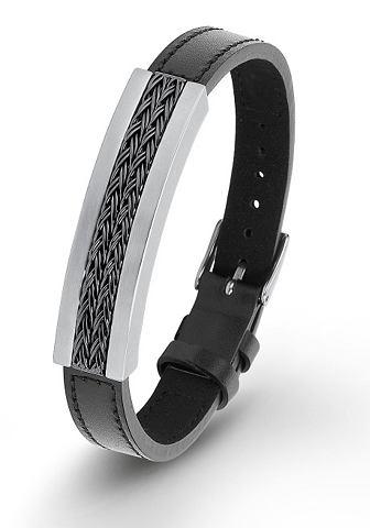 Браслет кожаный »2012476«