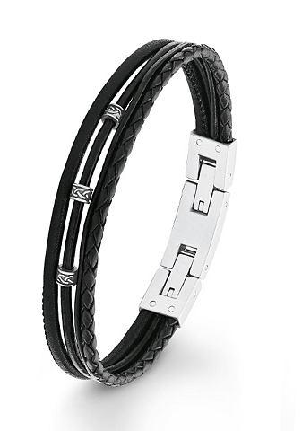 Браслет кожаный »2012576«