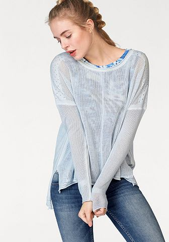 Пуловер с круглым вырезом »Maell...